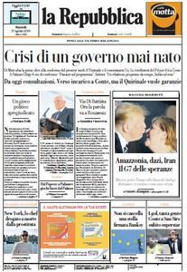 la Repubblica - 27 Agosto 2019