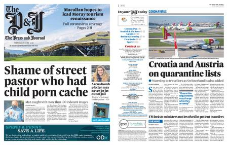 The Press and Journal Moray – August 21, 2020