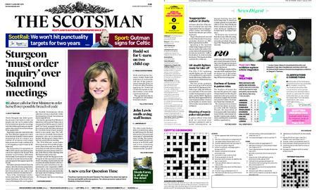 The Scotsman – January 11, 2019
