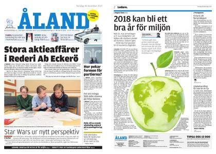 Ålandstidningen – 28 december 2017
