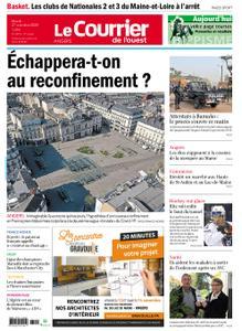 Le Courrier de l'Ouest Angers – 27 octobre 2020