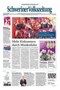 Schweriner Volkszeitung Hagenower Kreisblatt - 26. Februar 2018