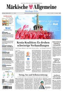 Märkische Allgemeine Jüterboger Echo - 08. Oktober 2019