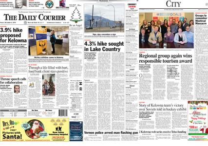 Kelowna Daily Courier – December 06, 2019