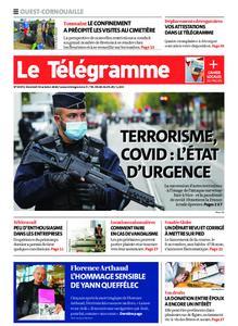 Le Télégramme Ouest Cornouaille – 30 octobre 2020