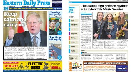 Eastern Daily Press – March 04, 2020
