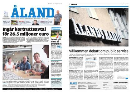 Ålandstidningen – 30 augusti 2019