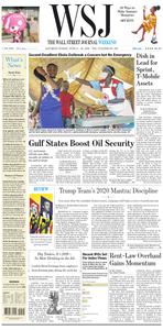 The Wall Street Journal – 15 June 2019
