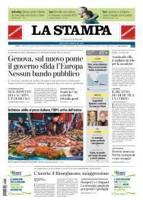 La Stampa Imperia e Sanremo - 24 Settembre 2018