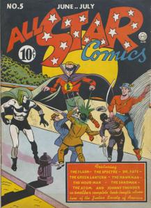 All-Star Comics 05 (DC) (Jun-Jul 1941)
