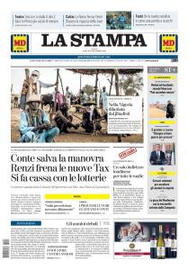 La Stampa Alessandria - 7 Dicembre 2019