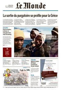 Le Monde du Mardi 19 Juin 2018