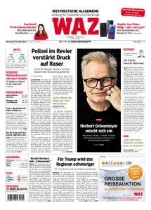 WAZ Westdeutsche Allgemeine Zeitung Oberhausen-Sterkrade - 08. November 2018