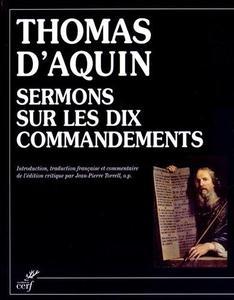 """Thomas d'Aquin, """"Sermons sur les Dix Commandements"""""""