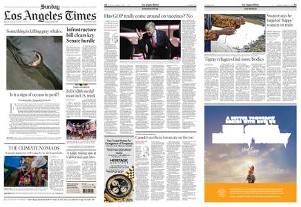 Los Angeles Times – August 08, 2021