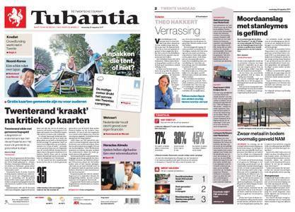 Tubantia - Enschede – 30 augustus 2017