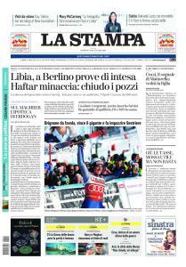 La Stampa Torino Provincia e Canavese - 19 Gennaio 2020