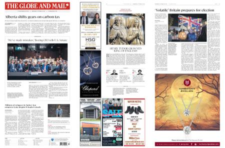 The Globe and Mail – October 30, 2019