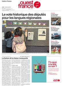Ouest-France Édition France – 09 avril 2021