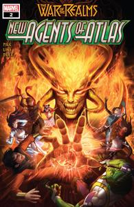 War Of The Realms-New Agents Of Atlas 02 of 04 2019 Oroboros