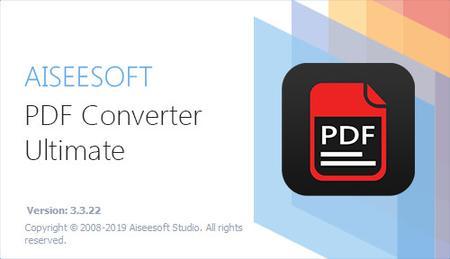 Aiseesoft PDF Converter Ultimate 3.3.22 Multilingual + Portable