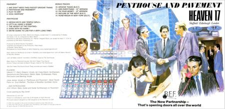Heaven 17 - Penthouse And Pavement (1981) Expanded Remastered 2006