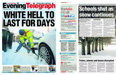 Evening Telegraph First Edition – March 01, 2018