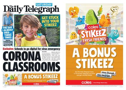 The Daily Telegraph (Sydney) – March 07, 2020