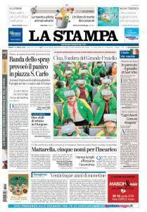 La Stampa Torino Provincia e Canavese - 14 Aprile 2018