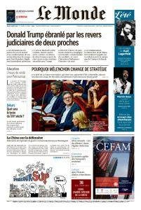 Le Monde du Jeudi 23 Août 2018
