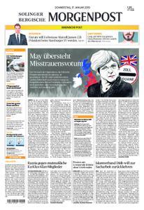 Solinger Morgenpost – 17. Januar 2019