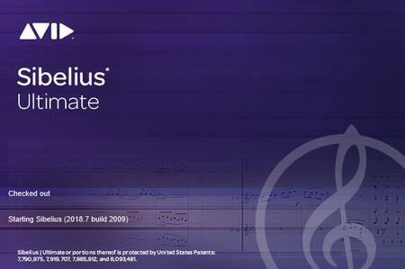Avid Sibelius Ultimate 2018.7 Build 2009 (x64) Multilingual