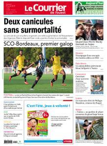 Le Courrier de l'Ouest Angers – 10 août 2019