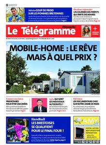 Le Télégramme Brest Abers Iroise – 11 avril 2021