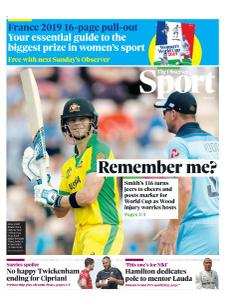 The Observer Sport - May 26, 2019