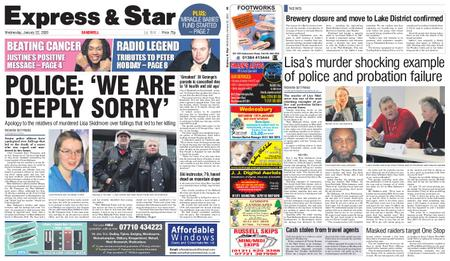 Express and Star Sandwell Edition – January 22, 2020