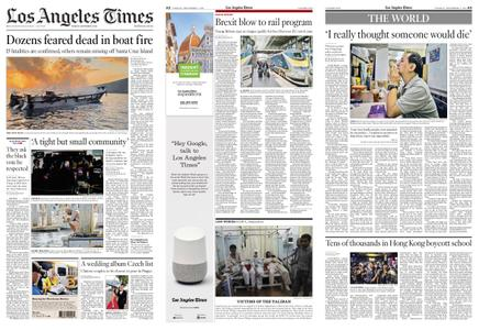 Los Angeles Times – September 03, 2019