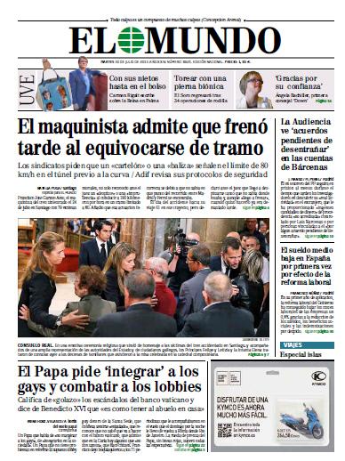 El Mundo - Martes, 30 De Julio De 2013