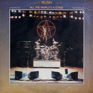 Rush - All The World's A Stage (1976) US 1st Pressing - 2 LP/FLAC In 24bit/96kHz