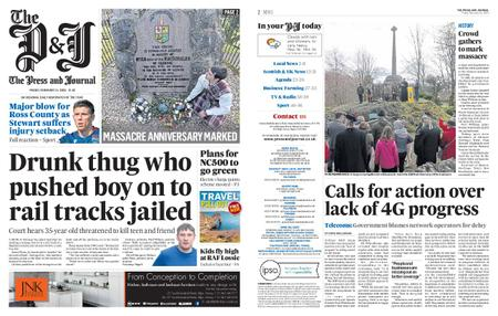 The Press and Journal Moray – February 14, 2020