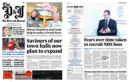 The Press and Journal Moray – December 28, 2018