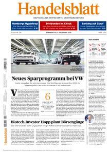 Handelsblatt - 06. Dezember 2018