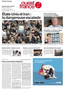 Ouest-France Édition France – 04 janvier 2020