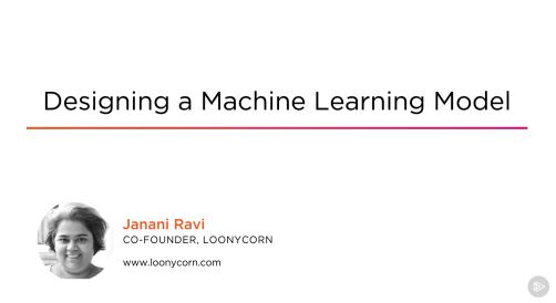 Designing a Machine Learning Model