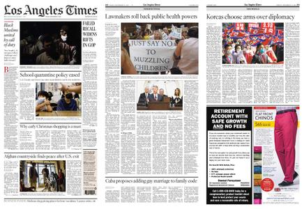 Los Angeles Times – September 17, 2021
