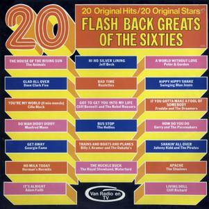 Various - 20 Flash Back Greats Of The Sixties (1974) K-Tel/TN 101 - Original NL Pressing - LP/FLAC In 24bit/96kHz