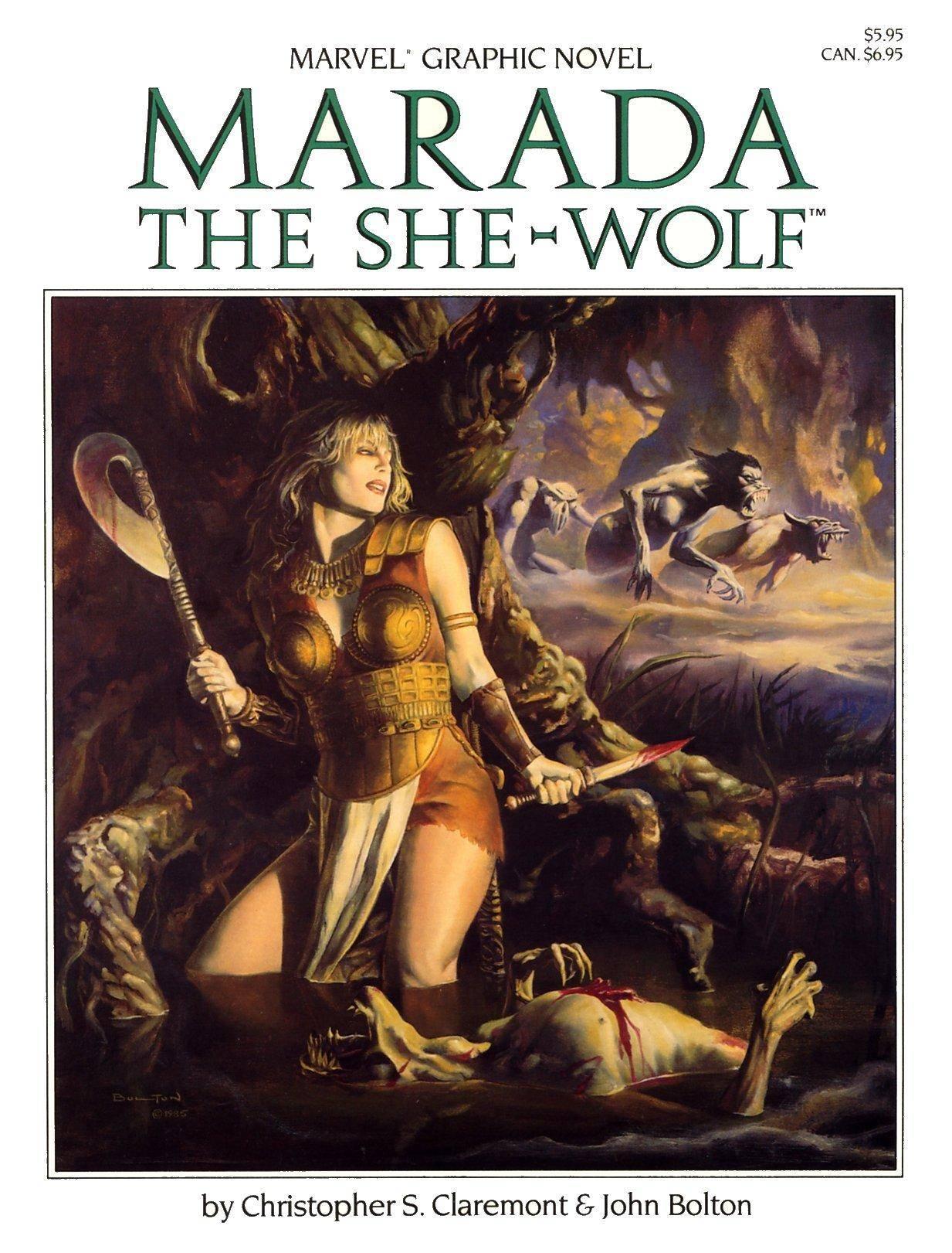 Marvel Graphic Novel 21 - Marada The She-Wolf 1985