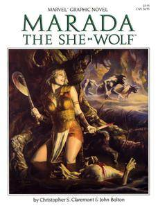 Marvel Graphic Novel 21 - Marada The She-Wolf 1985