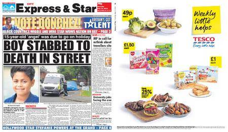 Express and Star City Edition – May 31, 2018