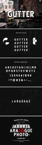 CM - Gutter - Handdrawn Sans ( 4 Styles ) 3936707